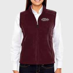 A-1 Ladies Fleece Vest