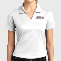 A-1 Ladies Dri-Mesh Polo